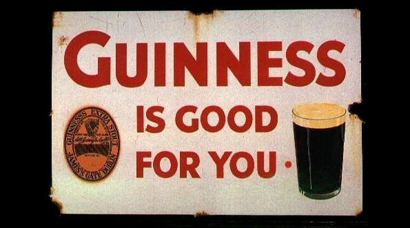 Guiness Is Good for you Sign