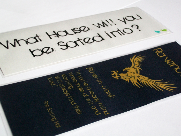 Ravenclaw House Bookmark