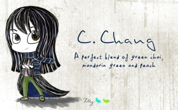 C. Chang, digital tea label