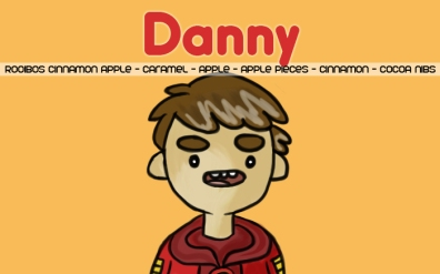 Danny Vasquez, digital tea label