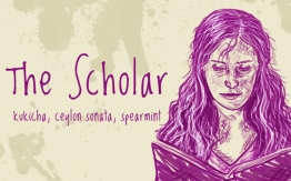 The Shcolar/Hermione Granger, digital tea label