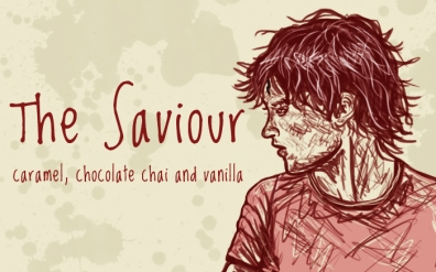 The Saviour/ Harry Potter, digital tea label