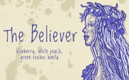 The Believer/Luna Lovegood, digital tea label