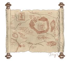 Map of Camelot, digital