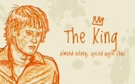 The King/Ron Weasley, digital tea label