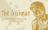 The Irishman/ Seamus Finnigan, digital tea label