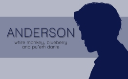 Anderson, digital tea label