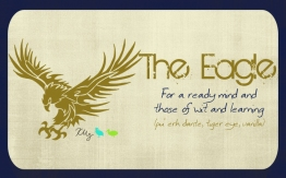 The Eagle, digital tea label