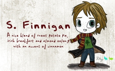S. Finnigan, digital tea label