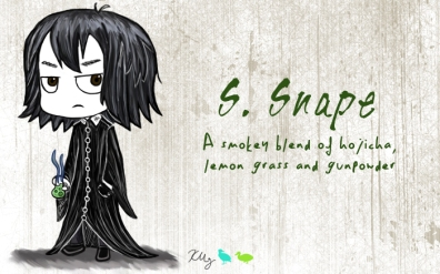 S. Snape, digital tea label