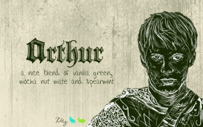Arthur, digital tea label