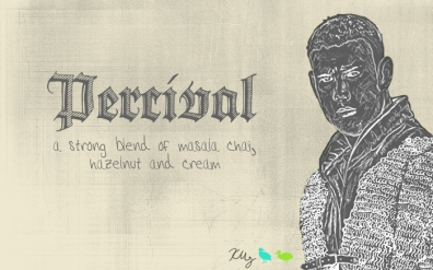 Percival, digital tea label