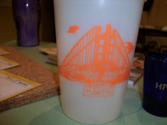 2009 Azkatraz Wrock Around the Rock Logo, seen on plastic cup