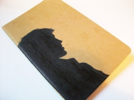 Castiel Moleskine notebook; front
