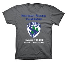 IQA Northeast Regional T-Shirt Design; front