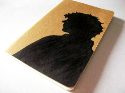 Sherlock Holmes Moleskine notebook; front