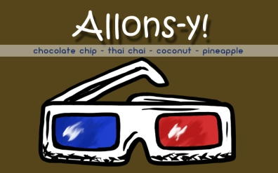 Allons-y!, digital tea label