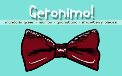Geronimo!, digital tea label
