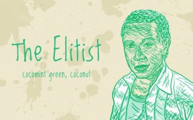 The Elitist/Blaise Zabini, digital tea label
