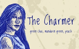 The Charmer/Cho Chang, digital tea label