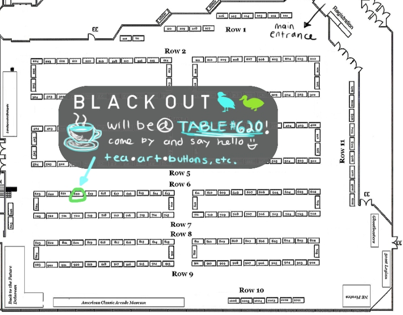 Granitecon 2013 Floorplan