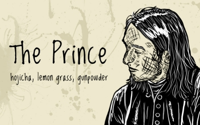 The Prince/Snape, digital tea label