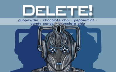 Delete!, digital tea label