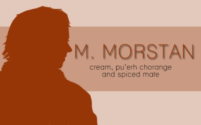 M. Morstan. digital tea label