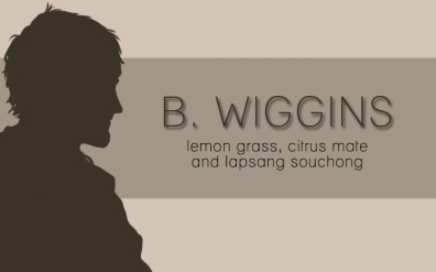 B. Wiggins, digital tea label