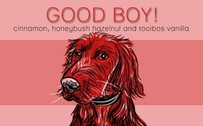 Good Boy!, digital tea label