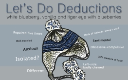Let's Do Deductions, digital tea label
