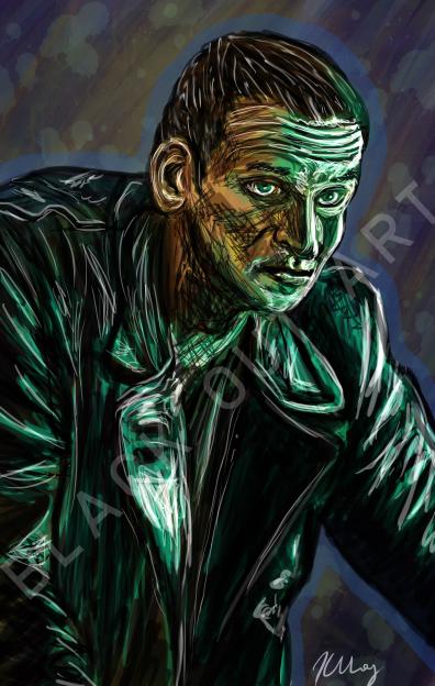 Ninth Doctor Portrait