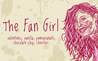 The Fan Girl/Romilda Vane, digital tea label