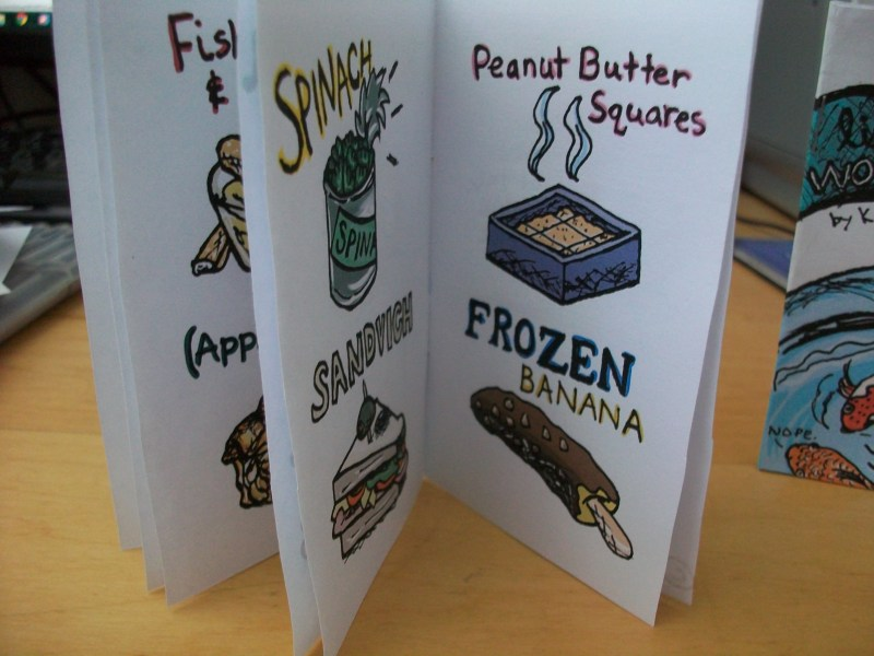 Favorite Fandom Foods Zine Inside