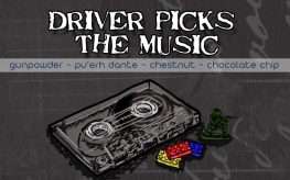 Driver Picks the Music, digital tea label