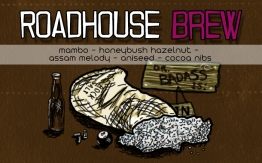 Roadhouse Brew, digital tea label