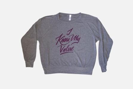 I Know My Value sweatshirt by Jordandene