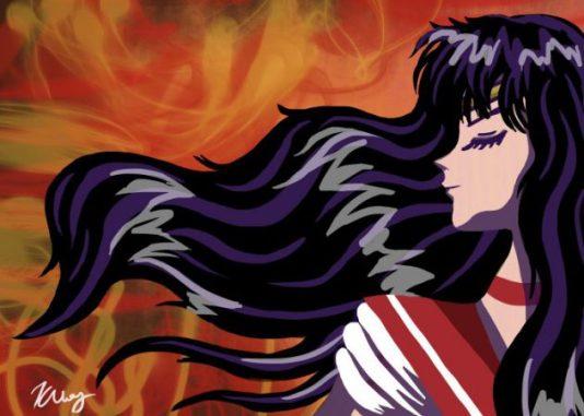 Girl on Fire (Sailor Mars), digital